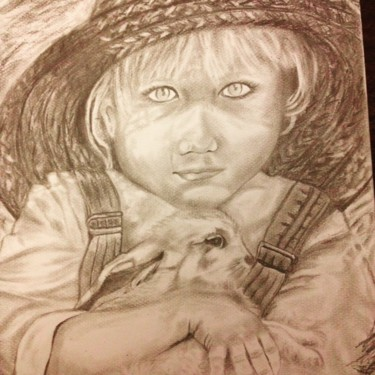 """L'ENFANT PAYSAN"" (The peasant child)"