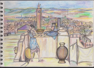 """""""SUR LES TOITS"""" (on the roofs)"""